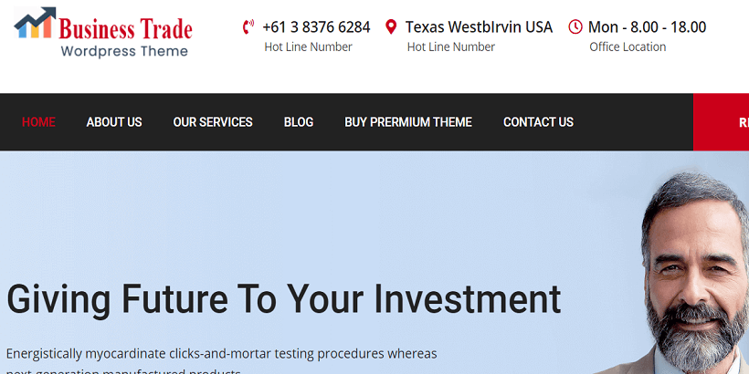 Business-Trade-Best Free-Consulting-WordPress-Themes