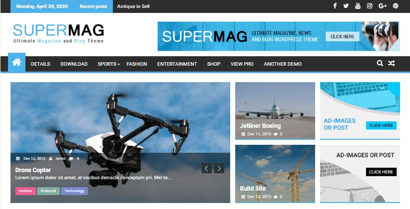 supermag-free-gutenberg-magazine-wordpress-theme