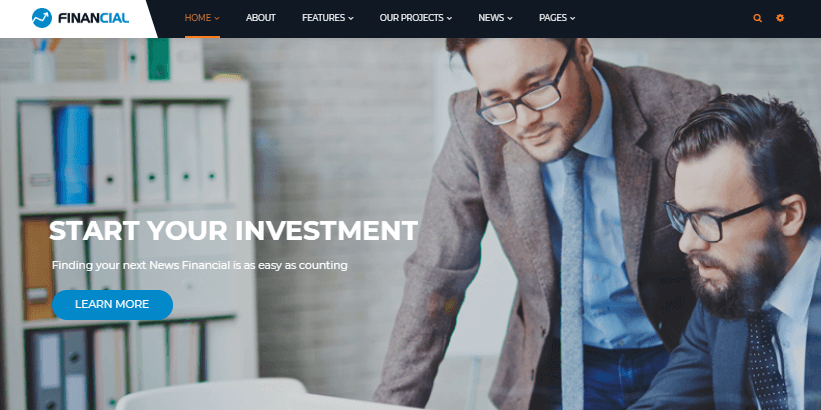 best-financial-consulting-wordpress-theme