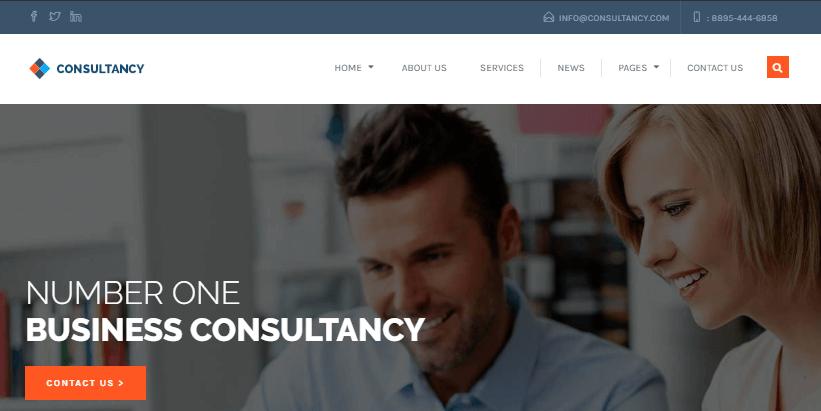 consultancy-wordpress-theme-amber