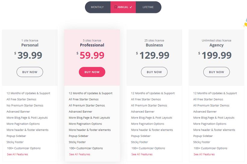 cosmoswp-premium-pricing