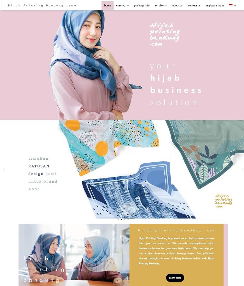 hijab-printing-banding-website-built-with-astra-wordpress-theme