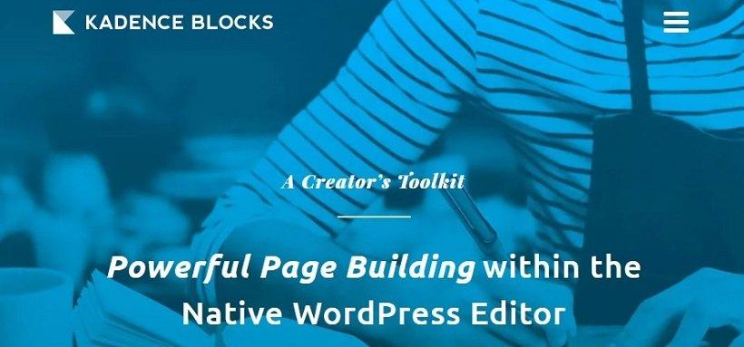 kadence-blocks-gutenberg-wordpress