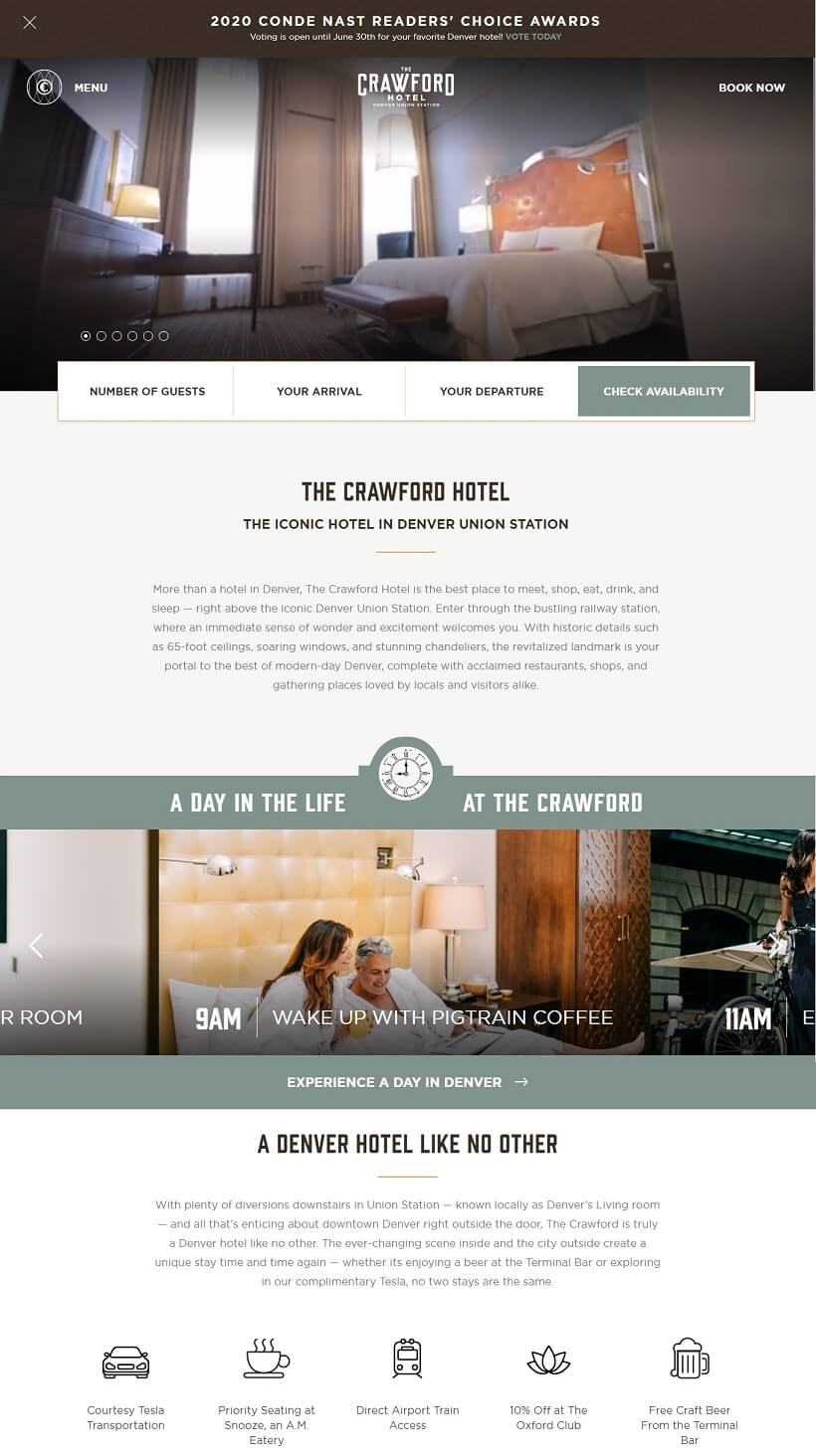 the-crawford-hotel-website-built-with-astrawp-theme