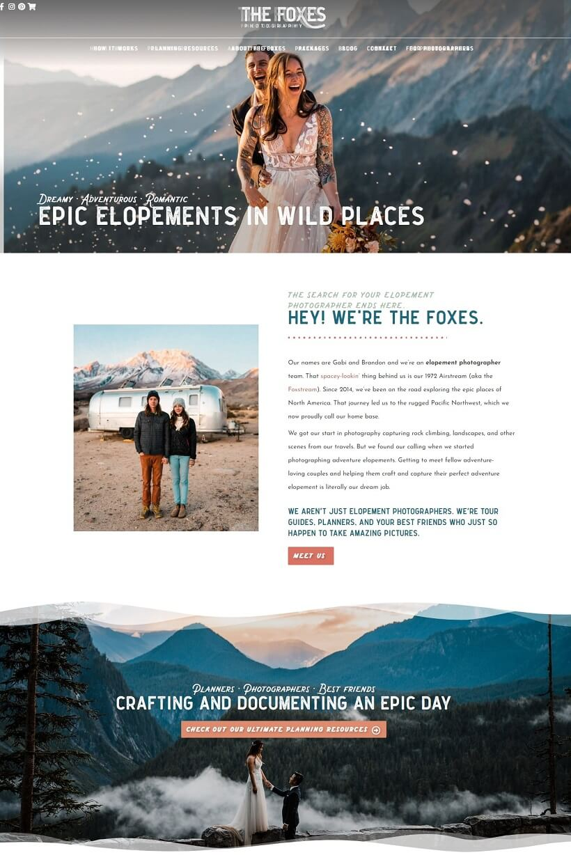 the-foxes-travel-photography-website-example-of-astra-wp-theme