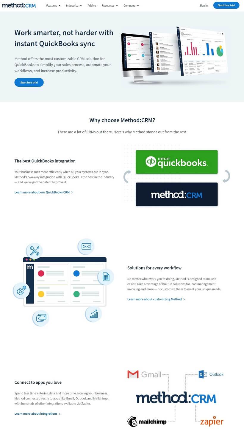 wpastra-pro-website-example-method-crm-website