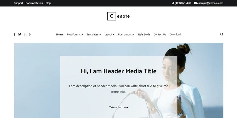 cenote-slider-wordpress-theme