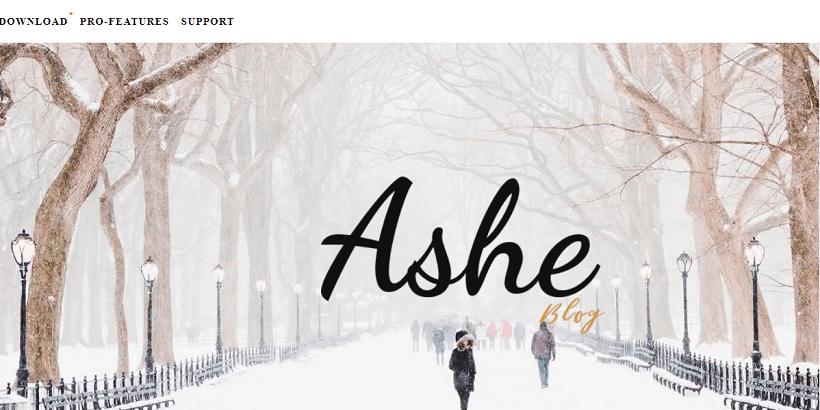Ashe-Free-WordPress-Theme-for-Personal-Blog