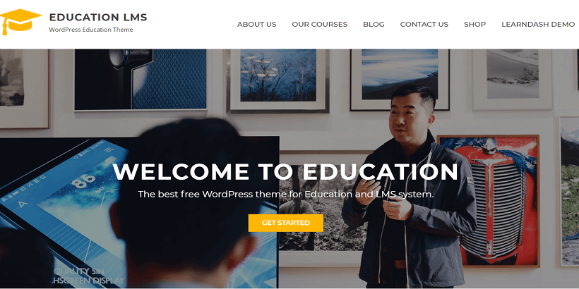 Education-LMS-Free-WordPress-theme-for-online-courses
