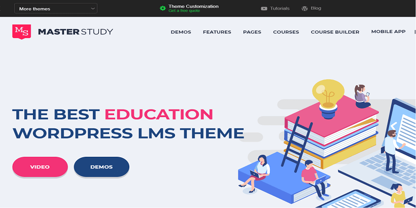 Master-Study- Best-WordPress-Theme-for-online-courses