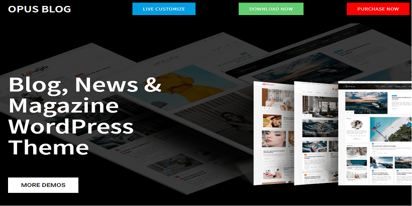 Opus-Blog-Free-WordPress-Theme-for-Personal-Blog