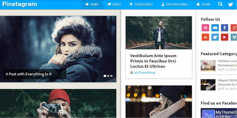 Pinstagram-Free-WordPress-theme-for-tech-blog