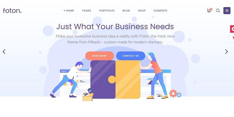 foton-tech-blog-wordpress-theme
