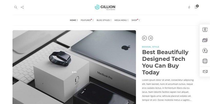 gillion-wordpress-theme-for-tech-blog