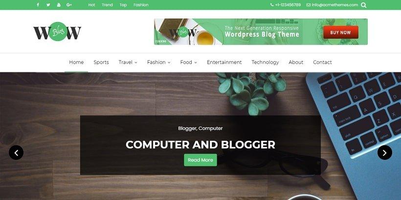 wowblog-free-blog-wordpress-theme