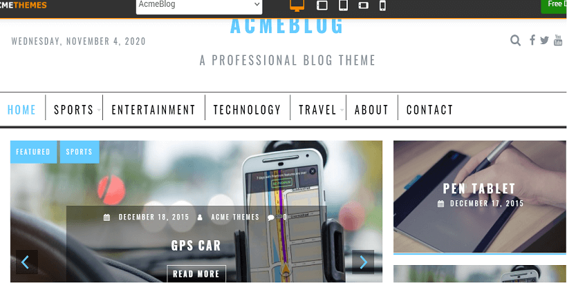 Acme-blog-best-free-wordpress-themes-for-personal-blogs