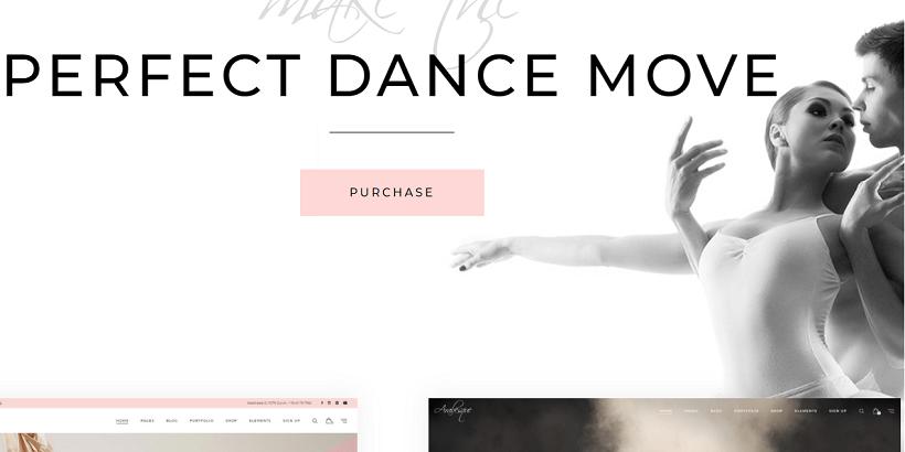 Arabesque-best-wordpress-theme-for-dance-studios