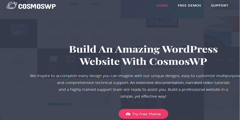 CosmosWP-best-free-WordPress-themes-for-personal-blogs