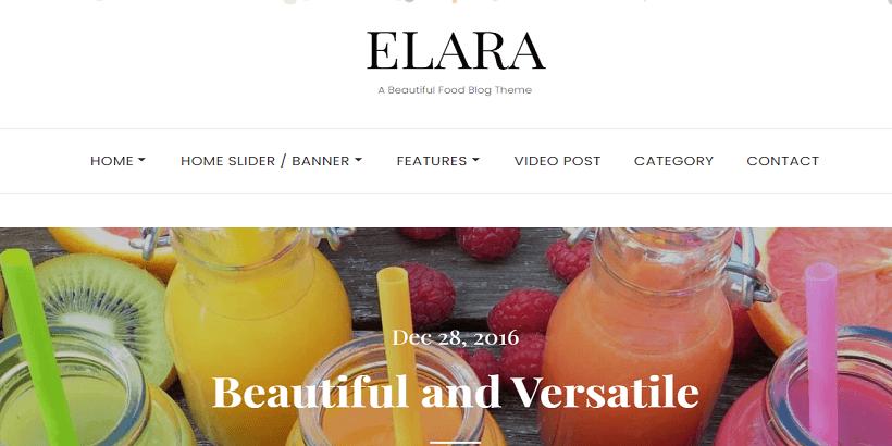 Elara-best-free-WordPress-theme-for-food-blogs