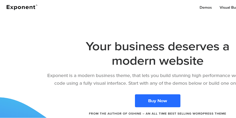 Exponent-Best-WordPress-theme-for-finance-blog