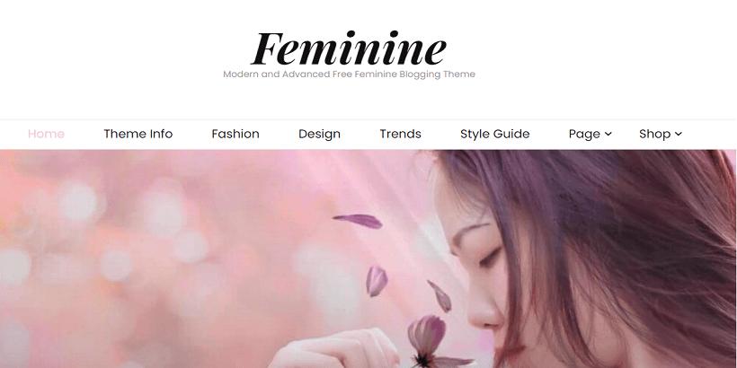 Feminine-Best-WordPress-theme-for-parenting-blog