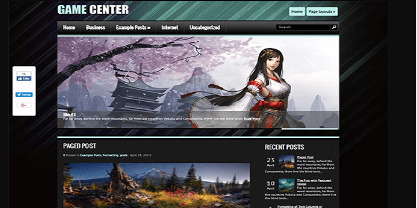 GameCenter-best-wordpress-theme-for-gaming-sites