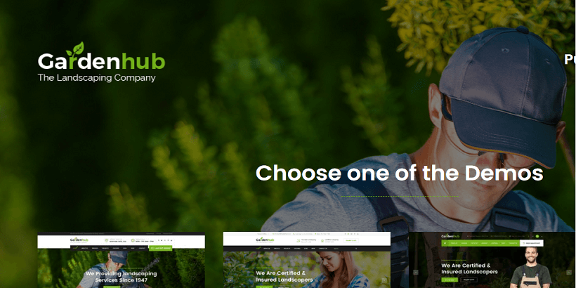 Gardenhub-best-wordpress-themes-for-gardening-and-landscaping-businesses