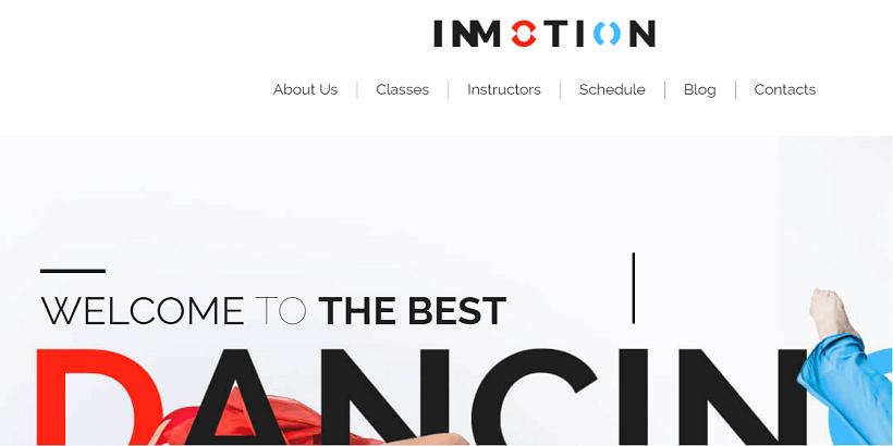 Inmotion-best-wordpress-theme-for-dance-studios
