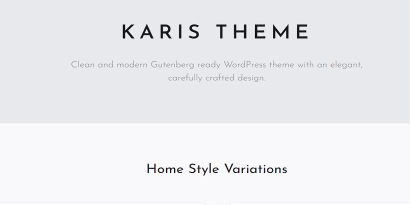 Karis-Best-WordPress-theme-for-parenting-blogs