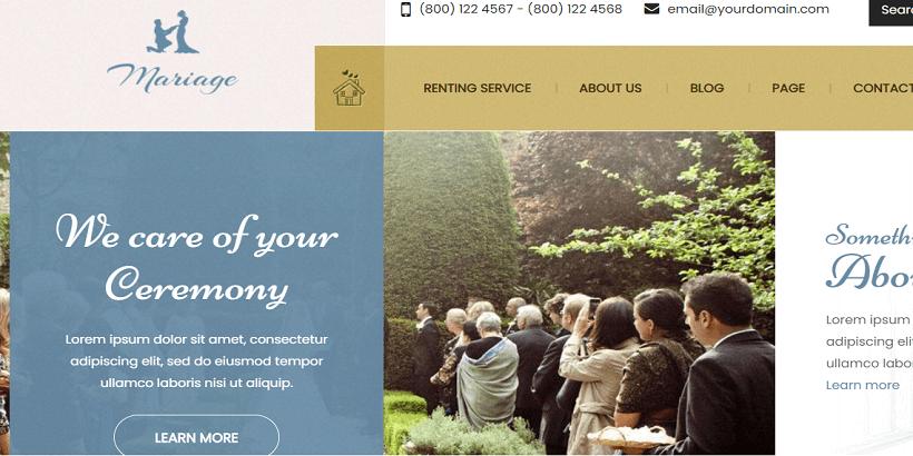 Mariage-best-wordpress-theme-for-weeding-sites