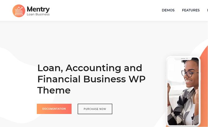 Mentry-best-WordPress-theme-for-financial-blogs