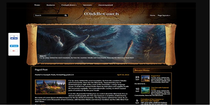 MiddleEarth-best-wordpress-theme-for-gaming-sites