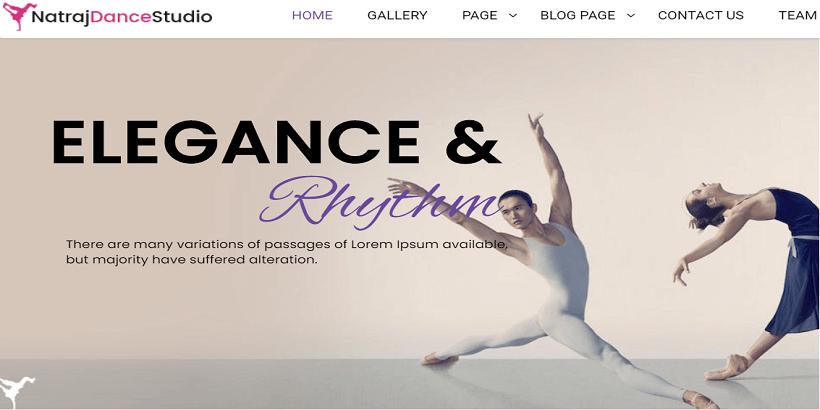 Nataraj-Dance-Studio-best-wordpress-theme-for-dance-studios