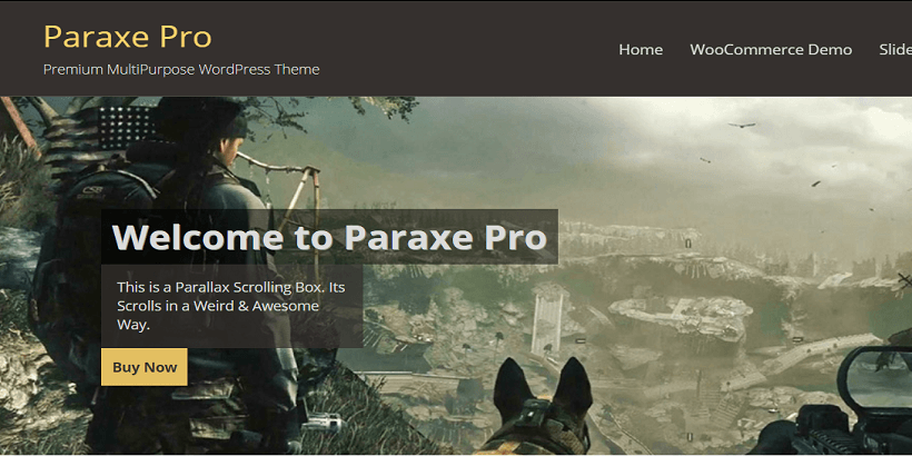 Paraxe-best-wordpress-theme-for-gaming-sites