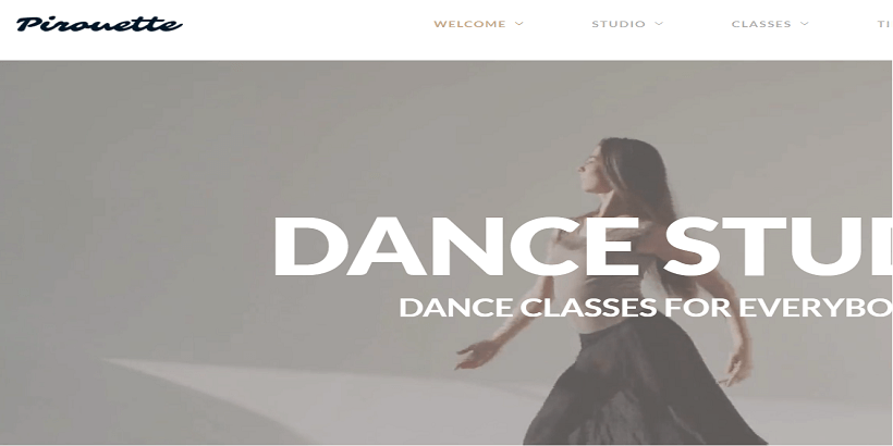 Pirouette-best-wordpress-theme-for-dance-studios