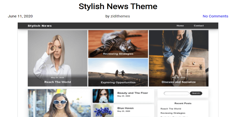 Stylish-News-best-wordpress-theme-for-movie-reviewing-sites