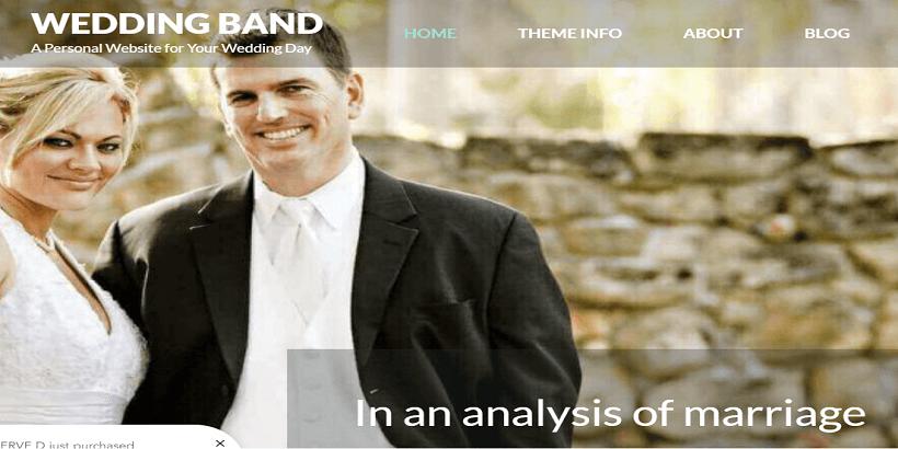 Wedding-Band-best-wordpress-theme-for-weeding-sites