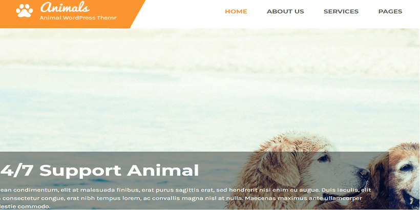 Animal-best-wordpress-theme-for-pet-and-animal-blog