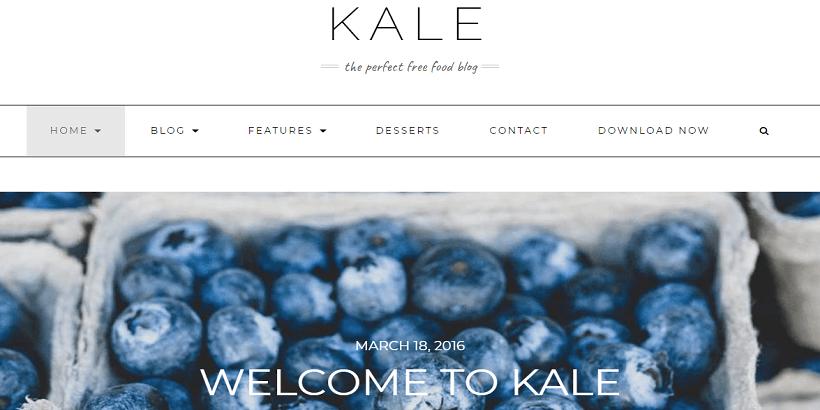 Kale-best-free-WordPress-theme-for-food-blogs