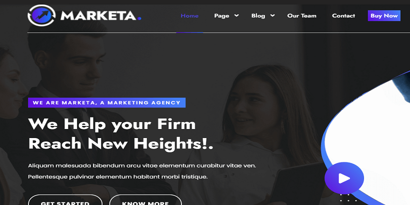 Marketing-Agency-Best WordPress theme for Digital Marketing Agency