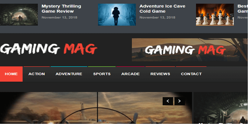 Gaming-Mag-Best-WordPress-theme-for-gaming-sites