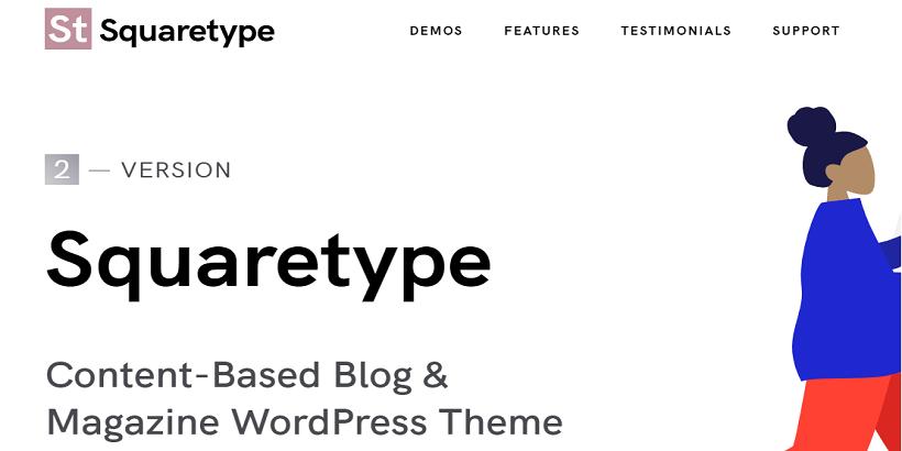 Squaretype-Best-WordPress-theme for-parenting-blog