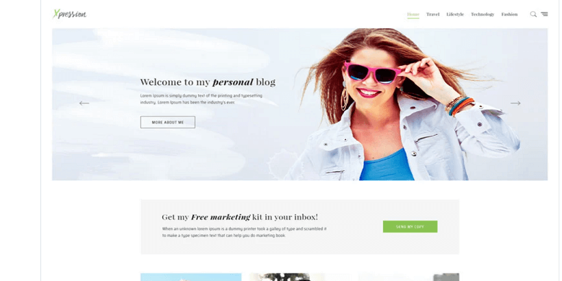 xPression- Best-WordPress-theme-for-parenting-blog