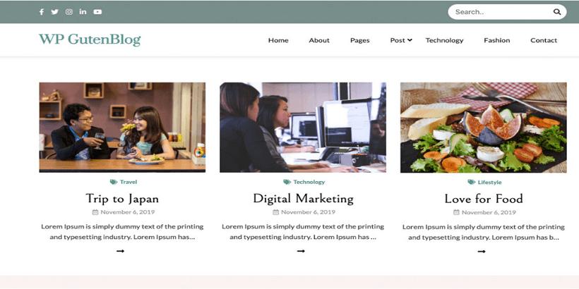 Guten-Blog-Best-Free-WordPress-Themes-for-Food-Blogs