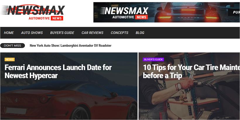 Newsmax-Best-Car-magazine-WordPress-theme