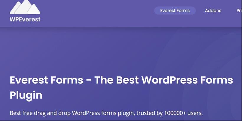 Everest-forms-Best-WordPress-Plugin-for-Tech-Blogs