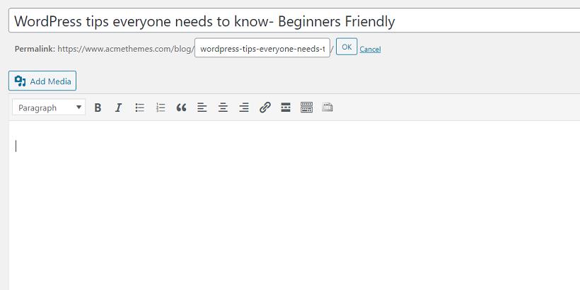 permalink-WordPress-tips-everyone-needs-to-know--Beginners-Friendly