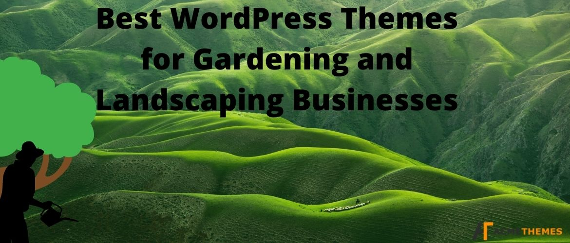Best WordPress Themes for Gardening and Landscaping Businesses
