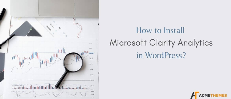 How-to-Install-Microsoft-Clarity-analysis-in-WordPress?