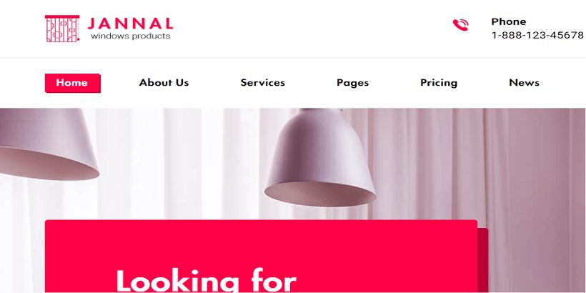 Jannal-Best-WordPress-Interior-Design-Themes